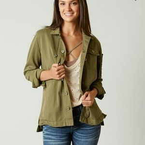 BUCKLE EXCLUSIVE BKE MILITARY JACKET Olive Medium